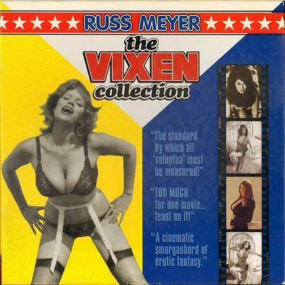Vixen Collection (The) Russ Meyer Box Set Ntsc Laserdisc