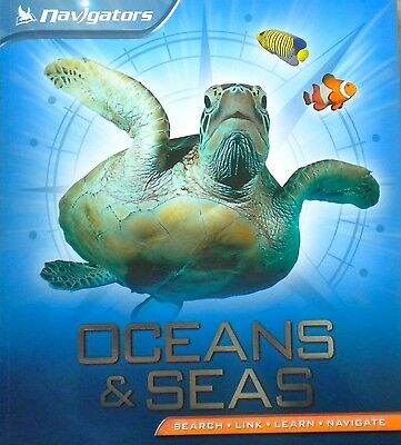 learning about Oceans and Seas children's book new