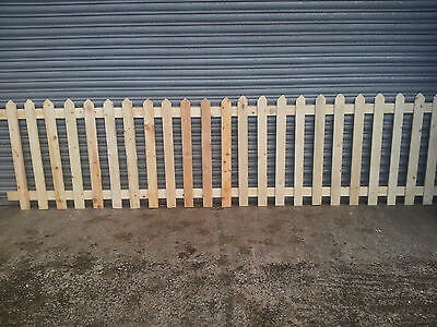picket fence,Wooden Picket, Fence Panels- 6' x 3'