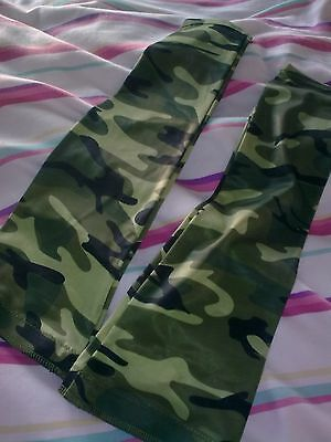 Mens Primal Cycling Arm Warmers XL-WORN ONCE-Camouflage style-VGC