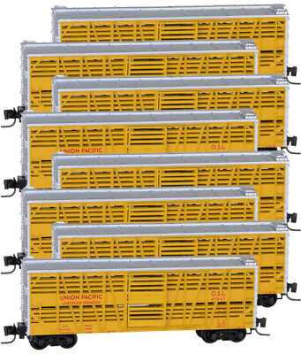 Micro-Trains MTL Z-Scale 40ft. Despatch Stock Cars Union Pacific/UP - 8-Pack