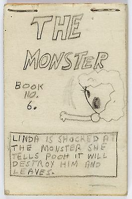 Rory Hayes The Monster Book Hand Drawn Original Art R. Crumb Underground comix