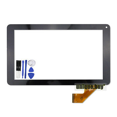 """9"""" Touch Digitizer For Proscan PLT9650G Tablet PC Glass Screen Panel Replacement"""