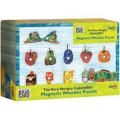 Very Hungry Caterpillar Magnetic Puzzle 11pcs   023332301409