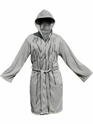 Doctor Who Licensed Weeping Angel Bath Robe Adult Men's (New)