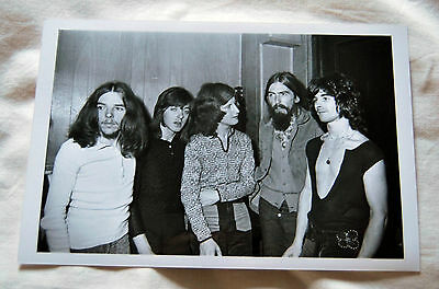George Harrison - Badfinger - Apple - Photo 1970 with date stamp on back Beatles