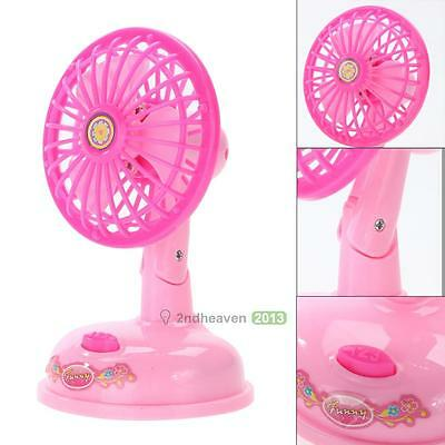 Funny Mini Electronic Fan Kids Child Simulation Household Series Play House Toy