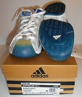 KID'S adidas NEW In Original Box BASKETBALL Sneakers Size 5 $49.95 Now $23.22