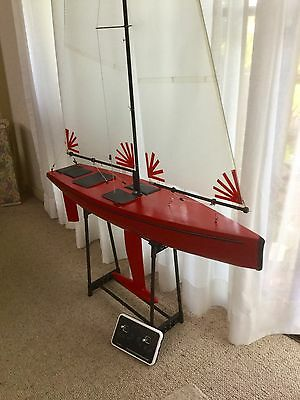 Radio Controlled RC Custom One Metre Yacht .Offers Sought