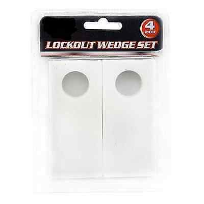 Lockout Wedge Set Four Pieces for Auto Windows and Doors - Repair Tools DIY
