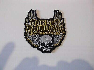 limited numbers Harley Davidson sew /iron on patch -  vest biker club.