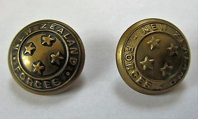 Ww2 vintage New Zealand army military buttons