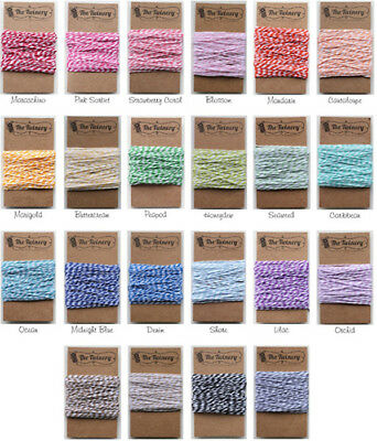 Twinery Baker's Twine-Approx 20 Yards-CHOOSE THE COLOR YOU WANT