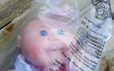 Avon exclusive Rare Cabbage patch doll heart dress + dummy 1996 sealed unopened