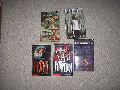 Lot of 5 Teen Young Adult Horror Thrillers Diane Hoh Lois Duncan Suzanne Weyn +
