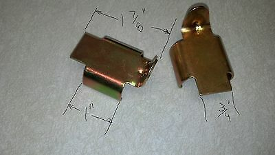 """1"""" Snowmobile Track Clips,Camoplast Challenger 15x121 track guides, 32 pcs."""