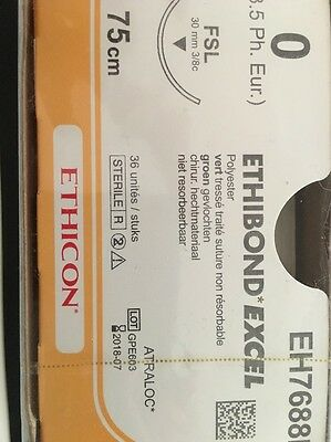 Nahtmaterial Ethicon Ethibond Excell 0, EH7688H 75cm