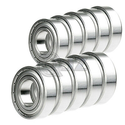 10 Pieces Miniature Radial Ball Bearings 623ZZ 3x10x4mm for RC Car Practico N5R4