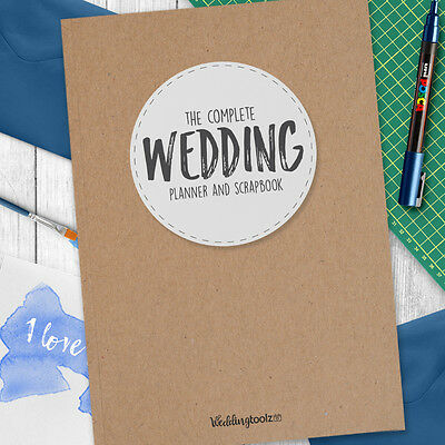 Wedding Planner Organizer  Wedding Planning Book Kraft Style Cover