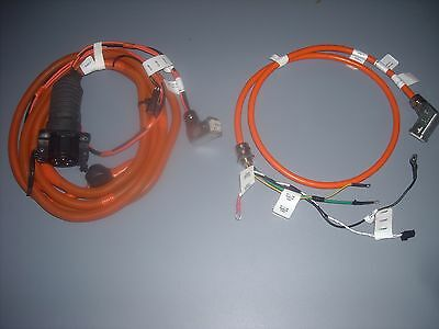 (2) EV cables (Inc. Yazaki J1772 inlet socket) that fit the Brusa NLG513 charger