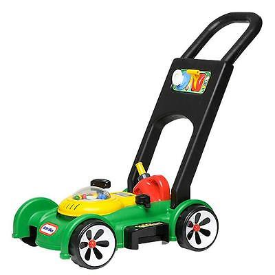 Little Tikes Lawn Mower Gas & Go Mower With Sounds & Petrol Can