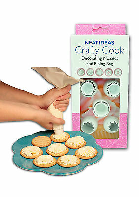 NEAT IDEAS Crafty Cook cake decorating set - cup cakes, icing