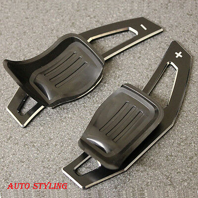 Aluminum Metal Black Paddle Shift Extension DSG VW Golf 5 MK5 6 MK6 GTI R32 P1ab