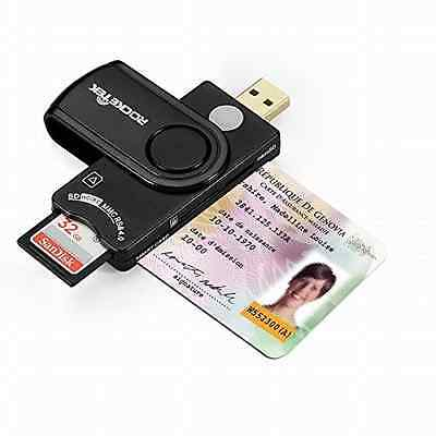 New Military USB Smart Card Reader/CAC Common Access Card Reader Writer