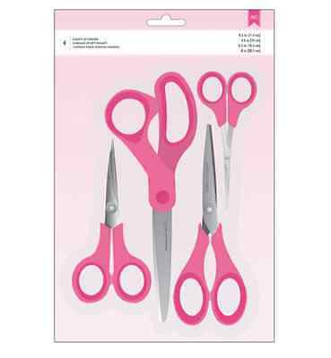 American Crafts Scissors - 4 pack - Paper craft, Scrapbooking