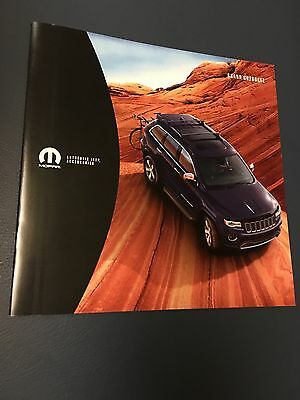 2016 Jeep Grand Cherokee Accessories 16-page Original Sales Brochure