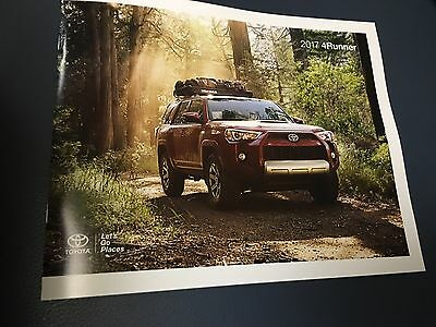 2017 Toyota 4RUNNER 24-page Original Sales Brochure