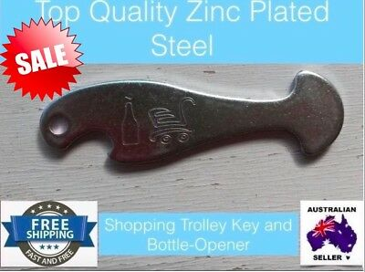 Shopping trolley key / Bottle opener