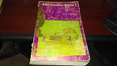 Mercedes-Benz 1 Chilton Repair Guide, Models to 1970