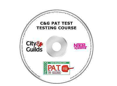 City And Guilds Pat Test Testing Course Electrical Dvd Disk