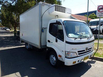 2007 Hino 300 Refrigerated Truck 3 Pallet