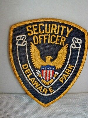 Delaware Park Security Officer Embroidered Patch - New & Unused