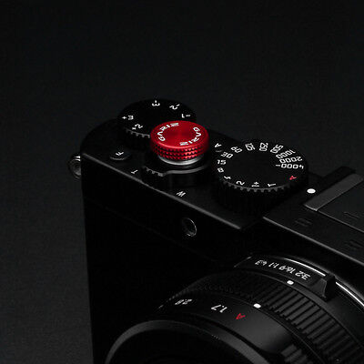 Gariz Sticker Soft Release Button XA-SBA6 for Sony Fuji Leica Canon Nikon Red