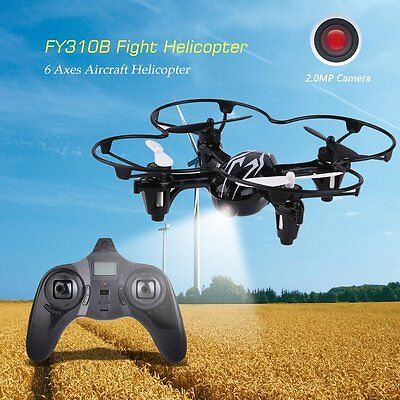FY310BHD 2.4G Quadcopter Aerocraft 6 Axes Quadcopter With 2.0MP Camera New GT
