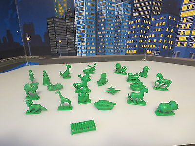 Lot Of Cereal Premiums Plastic Figures Animals ,boats Cars Figures