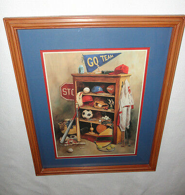Home Interiors  ''Kids Sports Room '' Picture 18'' x 22''