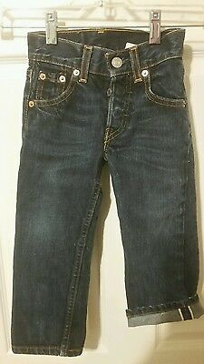 Levis Toddler/Child Jeans  BIG E  RED LINE SALVAGE   2 years