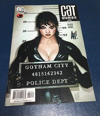 Catwoman #51 ADAM HUGHES Cover Signed At Baltimore Comic Con 2016 Lost Numbers