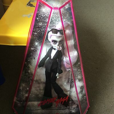 Monster High Lady Gaga  Zomby Gaga Mint In Box Collector Doll Super Rare Zombie