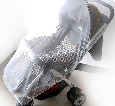 Universal Pram & Stroller Insect Mosquito Net natural Protect elastic dome cover