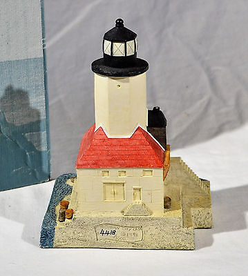 Michigan City IN Lighthouse Harbour Lights #123 in Box 1991