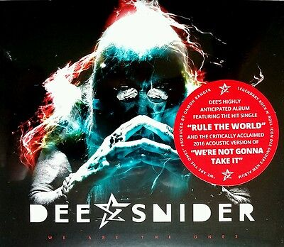 Dee Snider We Are The Ones Ex Twisted Sister Cd+Booklet Hand Signed Autographed