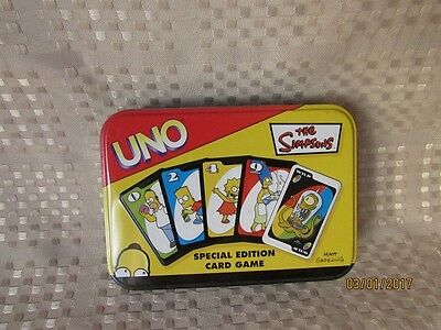 The Simpsons UNO Special Edition Card Game