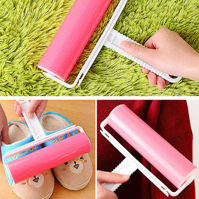 Reusable Washable Roller Cleaner Lint Sticky Picker Hair Fluff Remover Roller