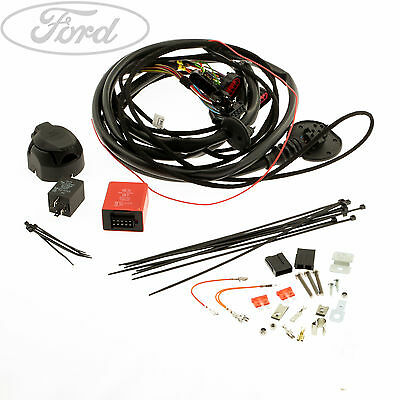 Genuine Ford Transit Connect Tow Bar Electrical Kit 7 Pin Socket Plug 1718768