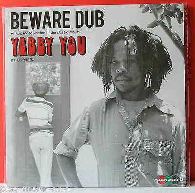 YABBY YOU & THE PROPHETS Beware Dub 2LP UK 2016 Pressure Sounds MINT!  Yabby U
